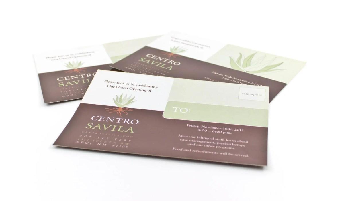 Centro-Savila-Opening-Postcard-English