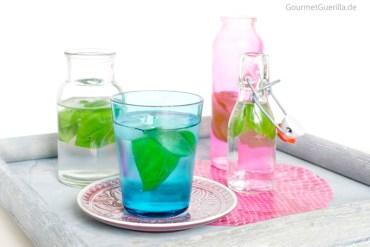 Basilikumwasser #rezept #gourmetgueilla