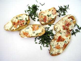 Karoffel-Fettunta #gourmetguerilla #hippeknollen #reweregional #kartoffelrezepte