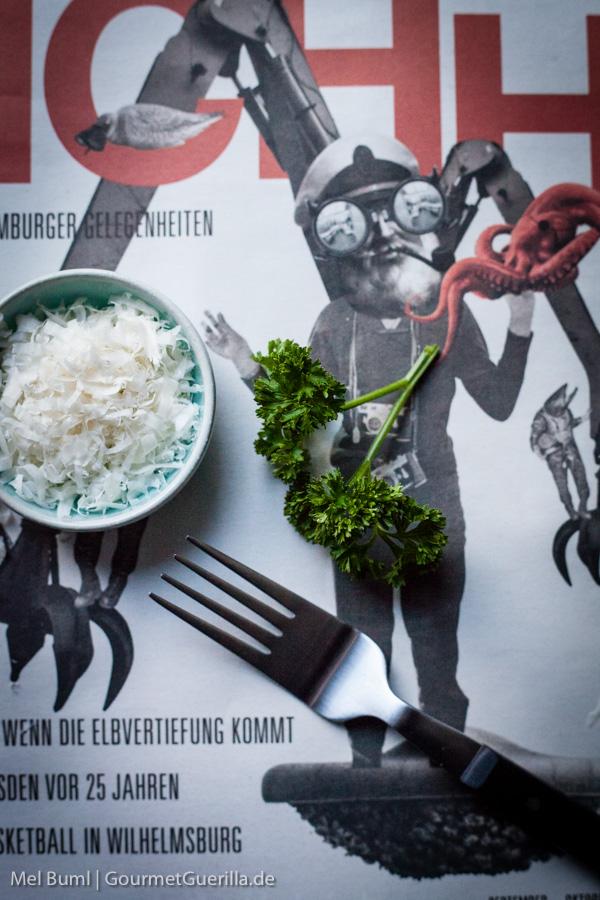 Petersilie und Parmesan |GourmetGuerilla.de