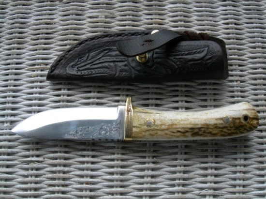 Custom Wayne Skaggs Knife