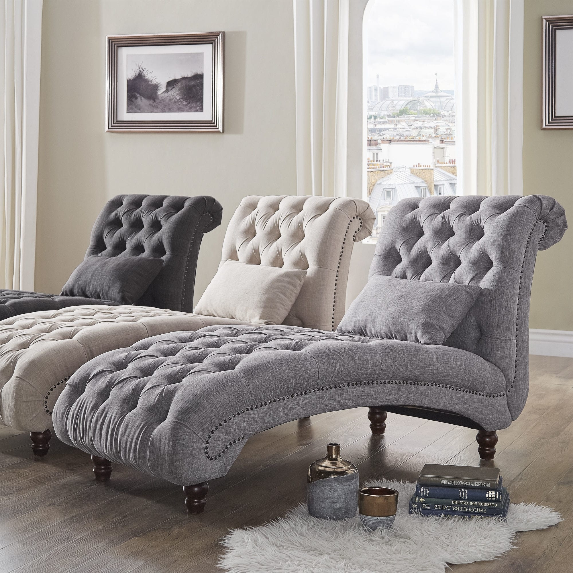 Imposing Showing Gallery Oversizedchaise Lounges Oversized Chaise Lounge Slipcover Oversized Chaise Lounge Ikea Knightsbridge Tufted Oversized Chaise Loungeinspire Q Artisan Oversized Chaise Lounges furniture Big Chaise Lounge