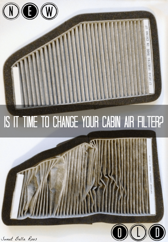 Is it time to change your cabin air filter? #FresherCar #cbias