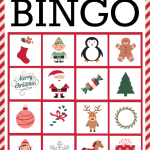 Christmas Bingo- Free Printable