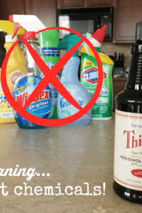 Cleaning Without Chemicals: Thieves Household Cleaner