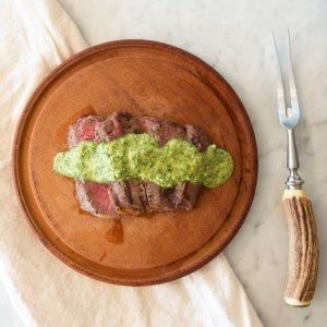 Fresh & Simple Chimichurri // Guest Post from Lisa Kellenberger