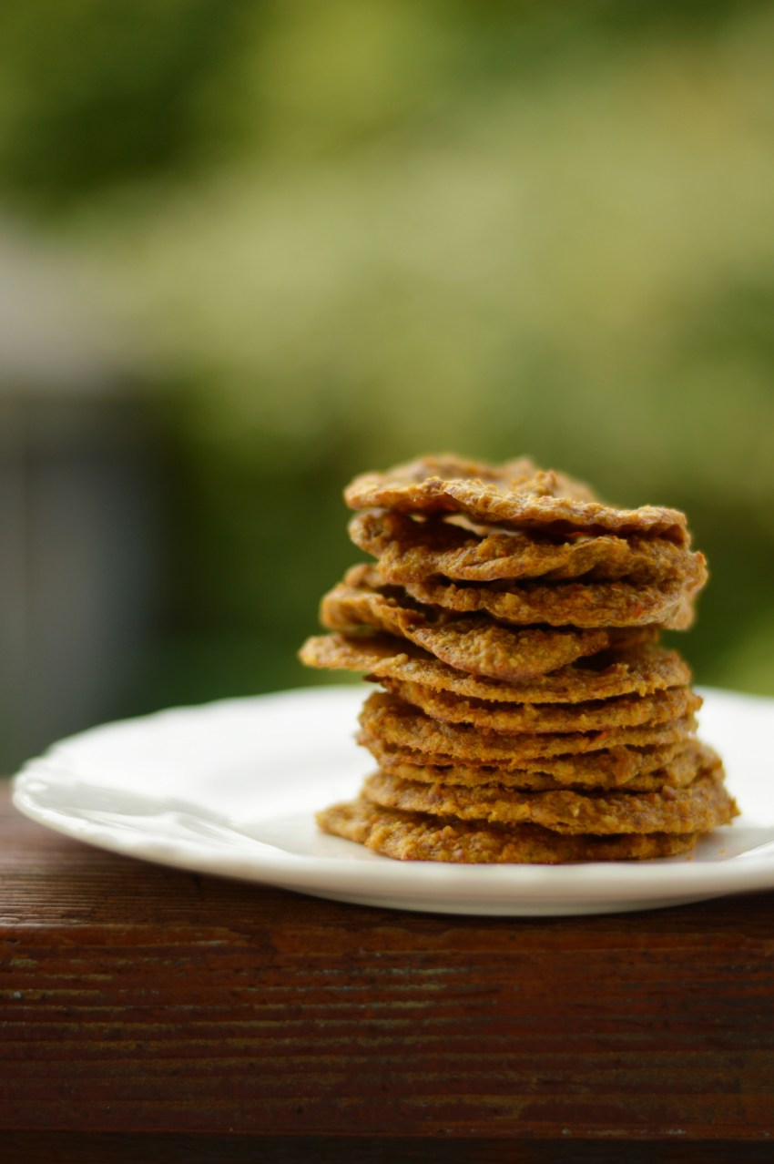Chewy Carrot Cake Cookies -- GracefullyPrimal.com #21DSD #Whole30 #grainfree #dairyfree #paleo #flourless
