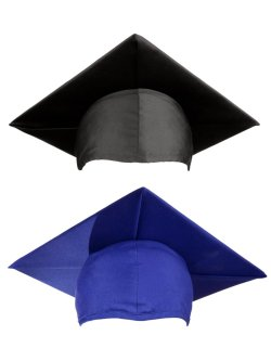 The This Is Quintessential Graduation Graduation Styling More Graduationsource Blue Graduation Cap Card Box Blue Graduation Cap Decoration