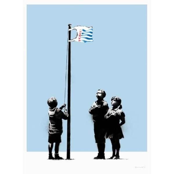 Banksy - Very Little Helps Print