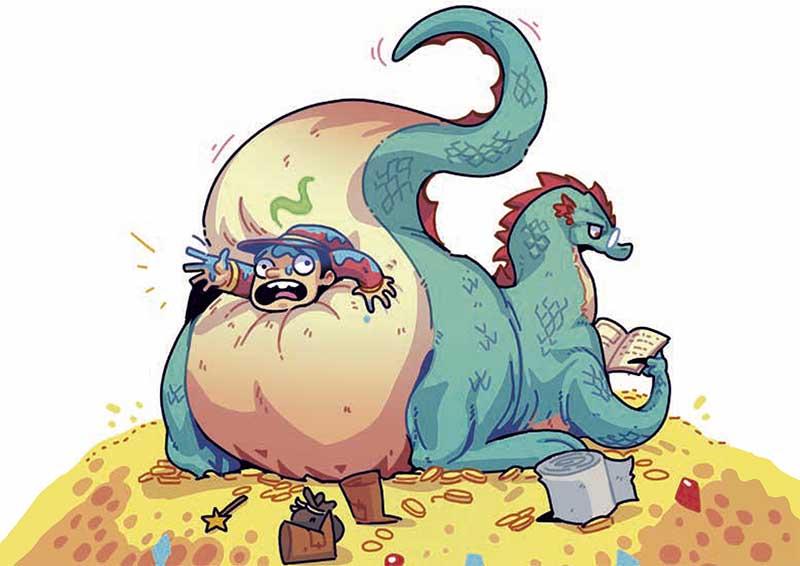 cualquier dragón querría leer el GRAN LIBRO DE LOS MAGOS