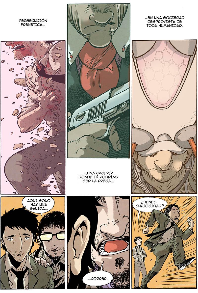 Victor Araque te habla de BUCKSON,un cómic de ciencia ficción médica