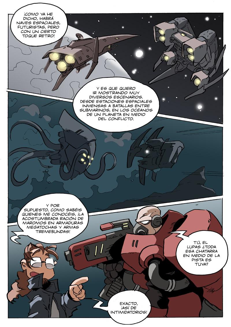 promo 03 del cómic de Nacho Fernandez, Los mundos de Valken