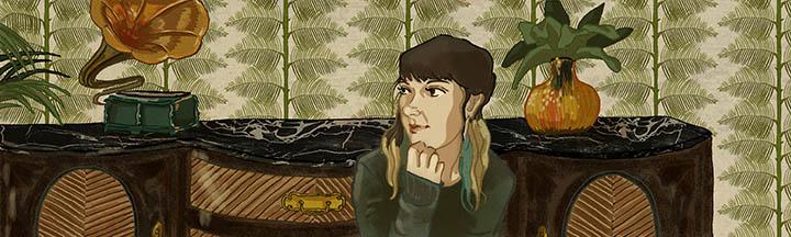 Rocio Estepa, colorista del cómic BUCKSON, en GRAFITO EDITORIAL