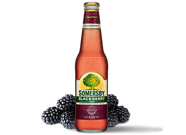 botella de somersby blackberry