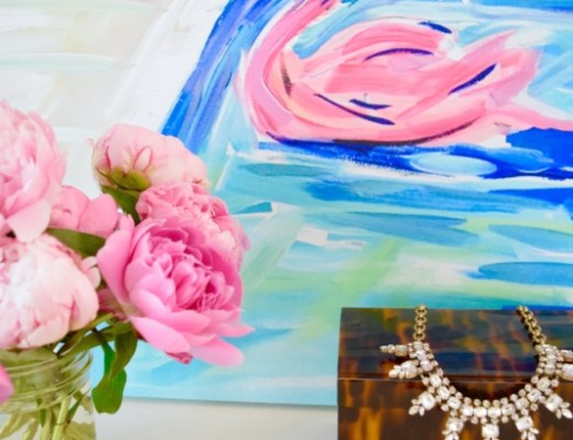 preppy summer decor and fashion lilly pulitzer pink blog