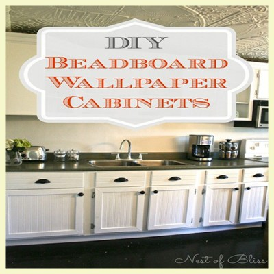 Decorating with Beadboard Wallpaper