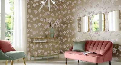 Living Room Wallpaper | Feature Wall Wallpaper | Graham & Brown