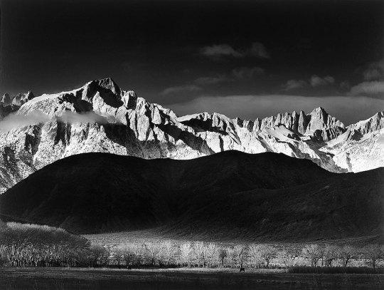 Winter Sunrise - Ansel Adams