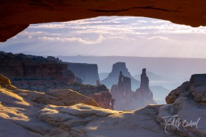 Canyonlands National Park Sunrise Window Arch
