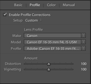 Canon 16-35mm F4 IS Profile Corrections Lightroom Download