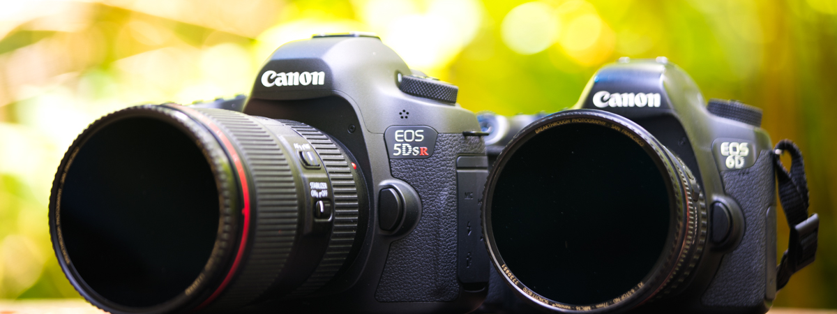 Canon 5Ds R with 16-35 F4 IS with Canon 6D with 17-40mm F4