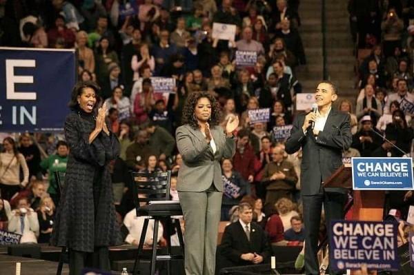 Obama and Winfrey