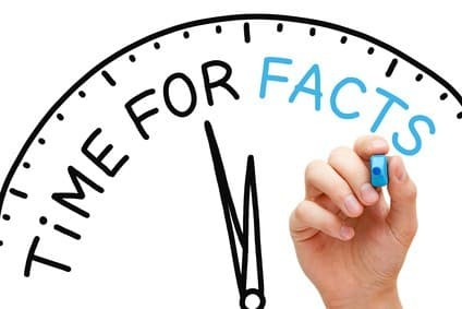 Be more accurate on your website - make time for facts