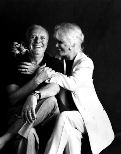 Dario Fo  Franca Rame 392x500 Franca Rame, actress, playwright and wife of Dario Fo, dies at 84