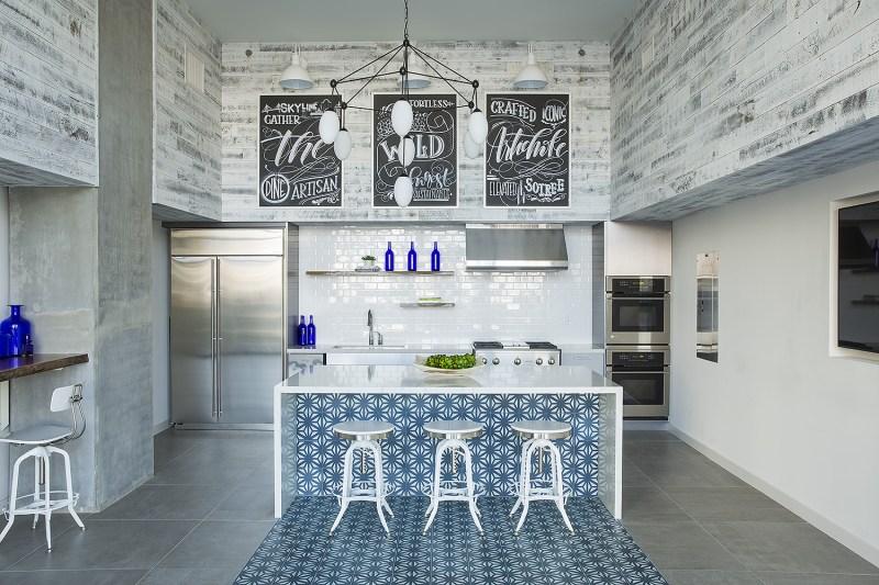 Large Of Tile Kitchen Island