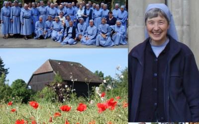 Le dimanche 18 septembre, bénédiction de sœur Anne-Emmanuelle, prieure de la communauté – informations pratiques