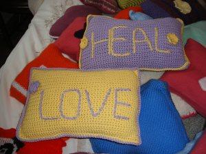 Healing cushions