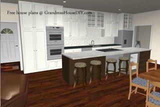 kitchen-free-house-plans-600x456