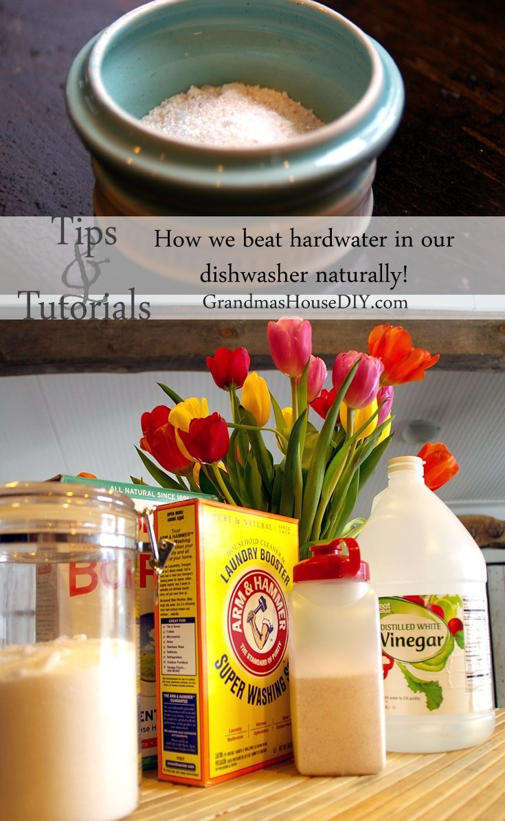 Country Mouse City Spouse Monday Mish Mash Link Party #37 Feature- Homemade Dishwasher Detergent @ Grandma's House DIY