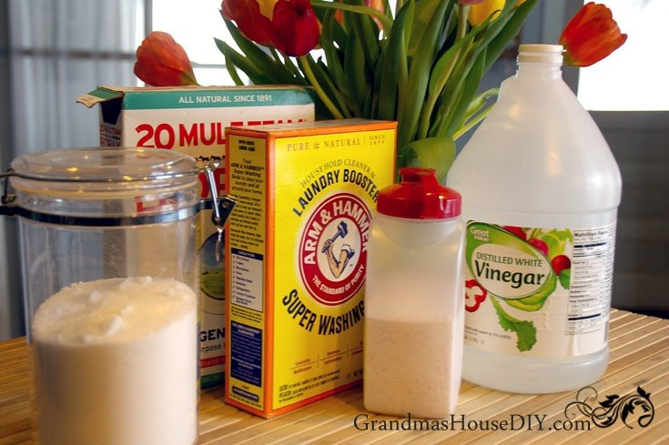 Homemade dishwasher detergent and how to beat hard water and white stuff on your dishes!