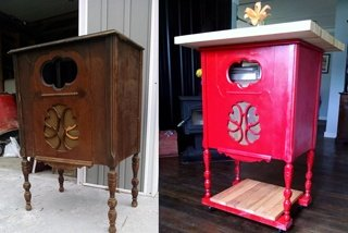 radio-stand-red-kitchen-island