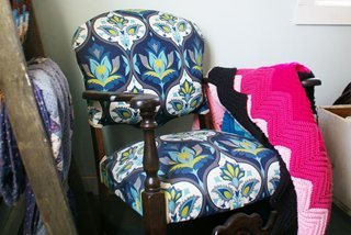 Inspiration board at Grandma's House DIY of stunning rocking chair makeovers and before and afters