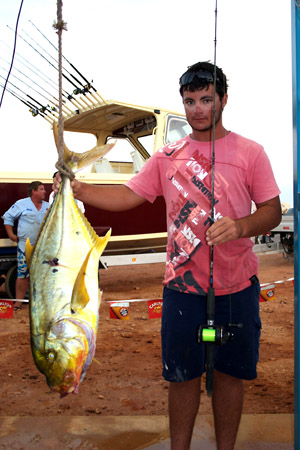 golden trevally world record