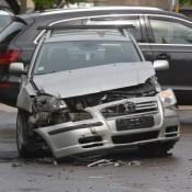 Фотофакт: серьезная авария в центре города