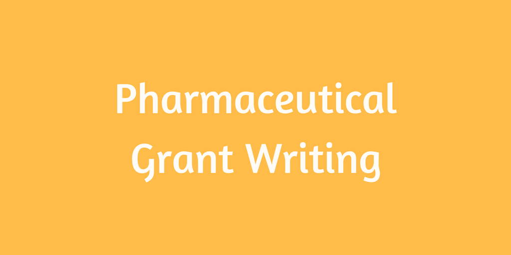 pharmaceutical grant writers in australia