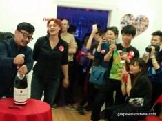 cheers wine shops new office opening beijing china