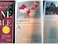 Karen MacNeil  new Wine Bible includes China section