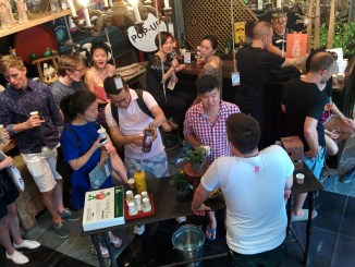 Resource Media Baijiu Beijing Residents Gather to Try Five Baijius During World Baijiu Day