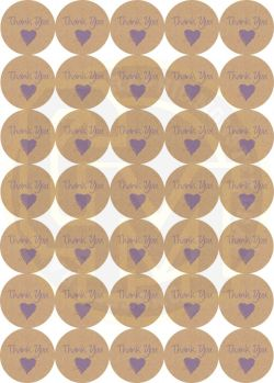 Relieving Wedding Favors Thank You Stickers Michaels Matt Paper Thank You Stickers Wedding Crafting Packaging 37mm Colour Lilac Sticker Quantity 1 Sheet 35 Stickers 7500 P Thank You Stickers