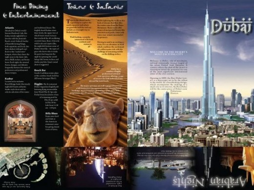 25  Magnificent Travel Brochure Examples   GraphicsBeam travel brochure examples