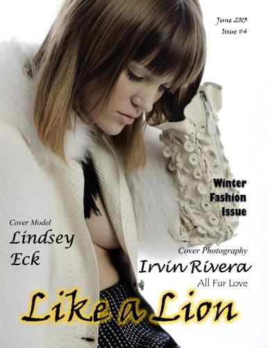LIKE A LION MAGAZINE COVER- IRVIN RIVERA