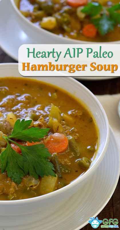 Paleo Hearty Hamburger Soup