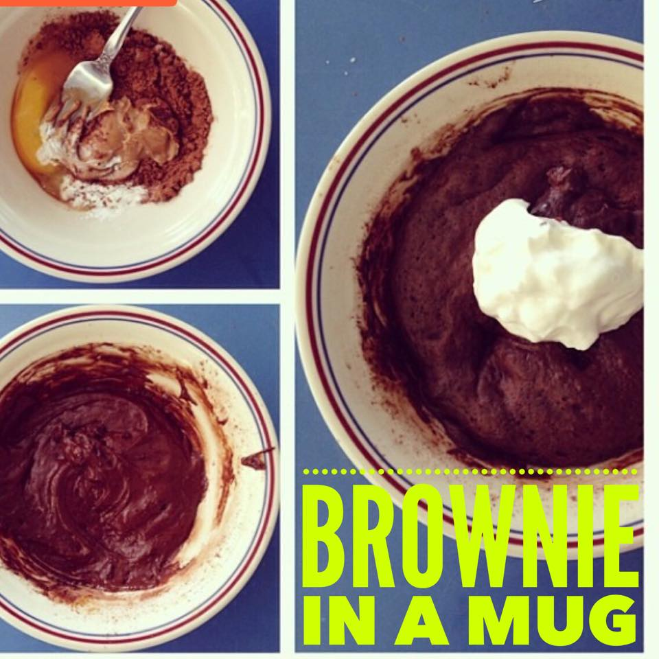how to make the best brownie in a mug