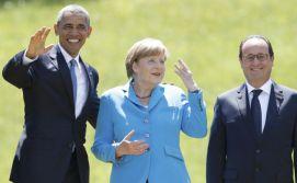 Merkel-Hollande-Obama