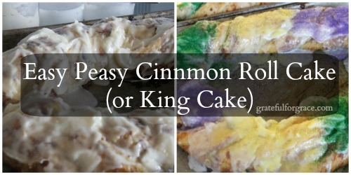 Cinnamon Roll Cake or King Cake WEB