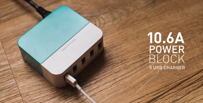 Travel chargers: thecoopidea Power Block